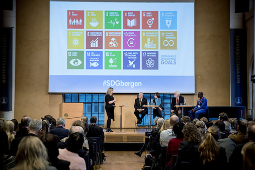Illustrative photo SDGs conference in Bergen