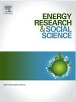 Cover of the journal Energy Research & Social Science