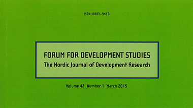 Cover of Forum for Development Studies