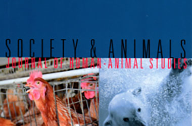 Cover of the journal Society & Animals