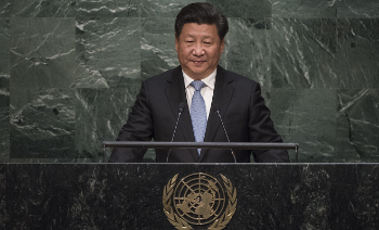Xi Jinping addressed the UN General Assembly