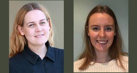 Anna Eriksen Rio og Ingrid Ågren Høegh